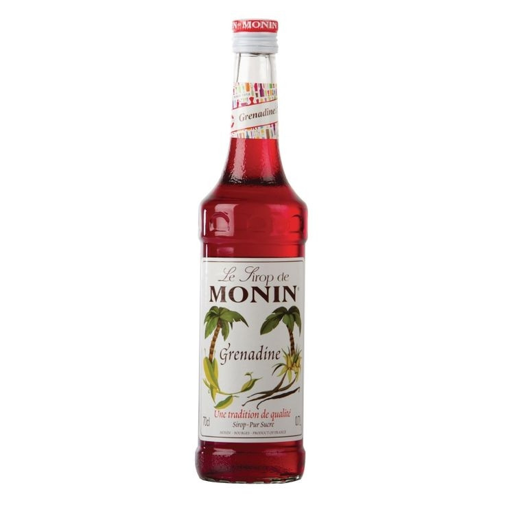 Monin Grenadine Rød Sirup 70 cl