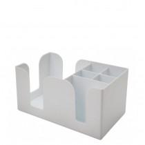 BarCaddy Hvid Ekstra Solid