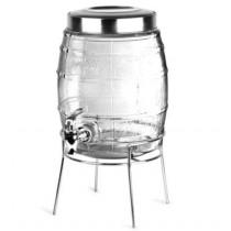 Tønde-drinks-dispenser-m.-stativ-5-Liter