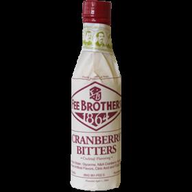 Fee Brothers Tranebær Bitter 4,10% - 15 cl