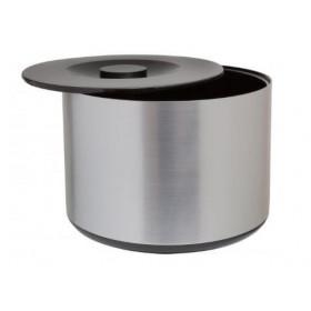 Isspand 3,4 L. Rund - Børstet aluminium design