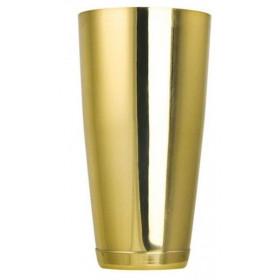 The Bars Boston Shaker m. bundkappe 84 cl. - Guld