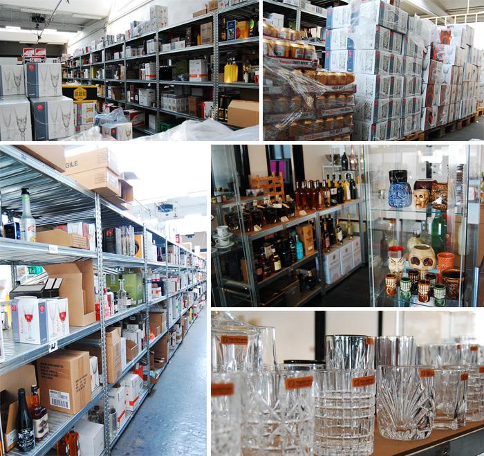 Billeder fra vores lager og showroom